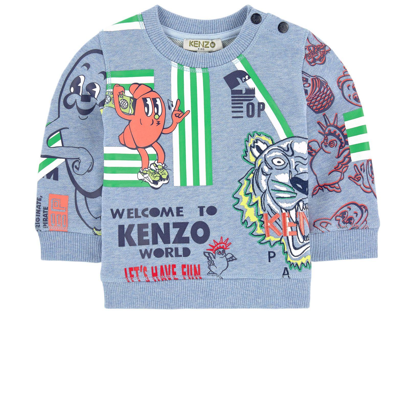 Kenzo Kids Graphic sweatshirt Food Fiesta