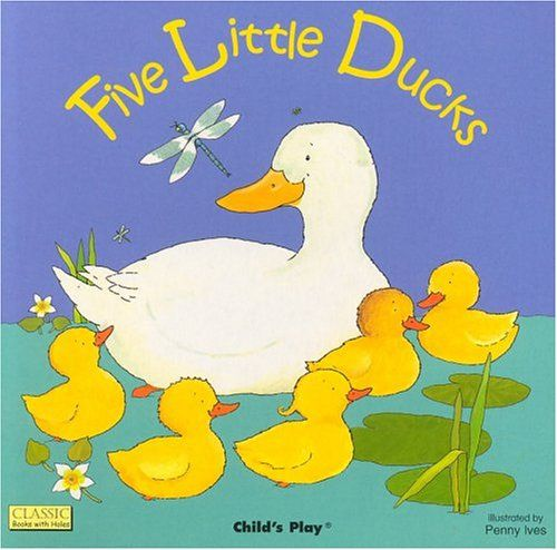 Five Little Ducks Board Book Walmart Com Little Duck Math Work Stations Gross Motor Activity