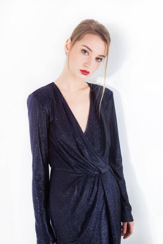 ef7a43ea8c Shiny long dress by Elisabetta Franchi | ELISABETTA FRANCHI | Abiti ...