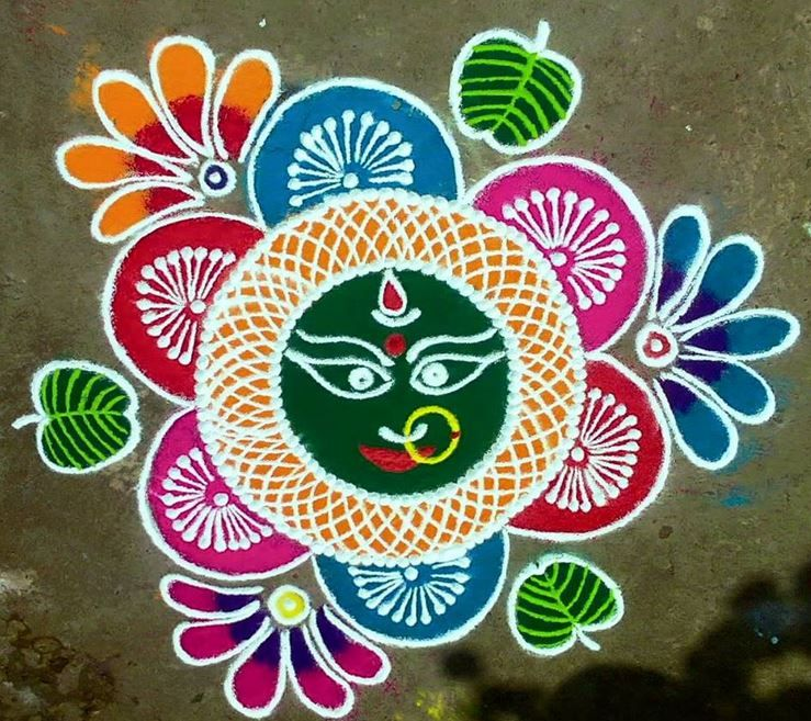 Design   Rangoli Designs for Dussehra. Rangoli Designs for Dussehra   renu deshpande   Pinterest