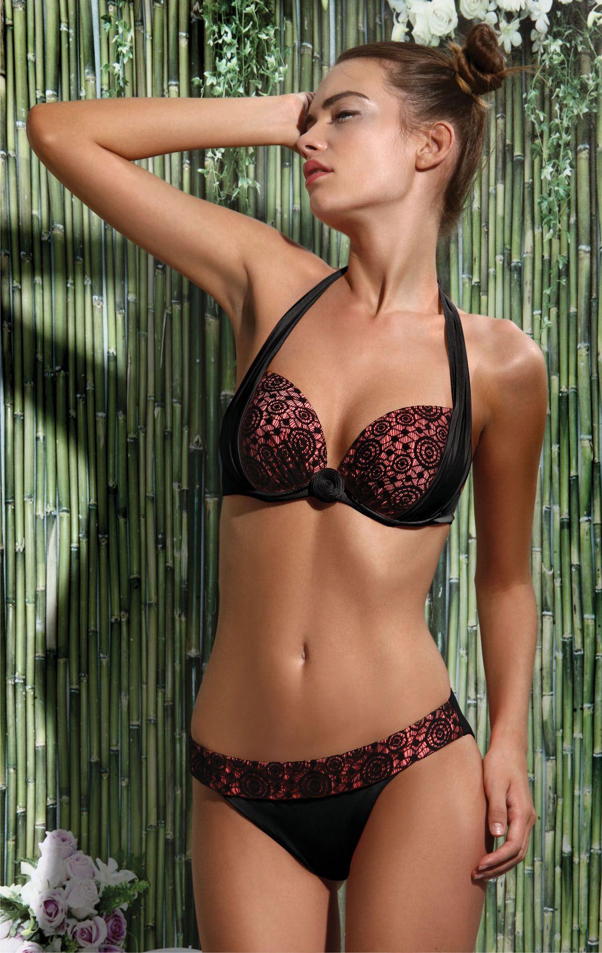 710c23f242434 ... Suits for Women - Jolidon. Sexy Macrame Bikini