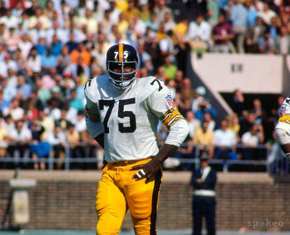 Joe Green, Pittsburgh Steelers, 1969 Joe greene