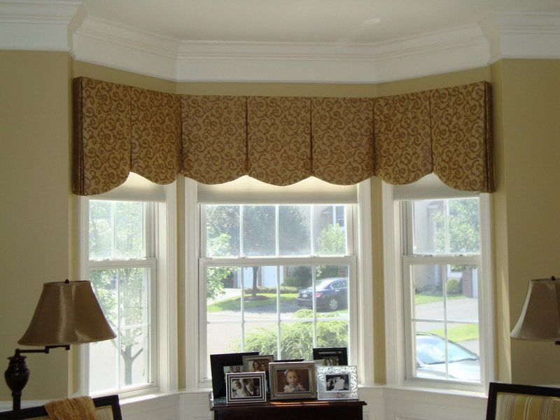 Valance for Bay Window with cell