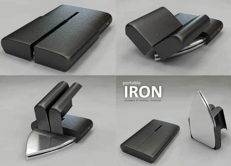 Portable Iron idea courtesy of The Culinary Musician @ www.facebook.com/culinarymusician  ............Please Re Pin now!