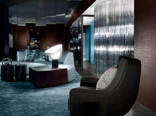 W Hotel Downtown Atlanta USA Interior by Burdifilek Modern