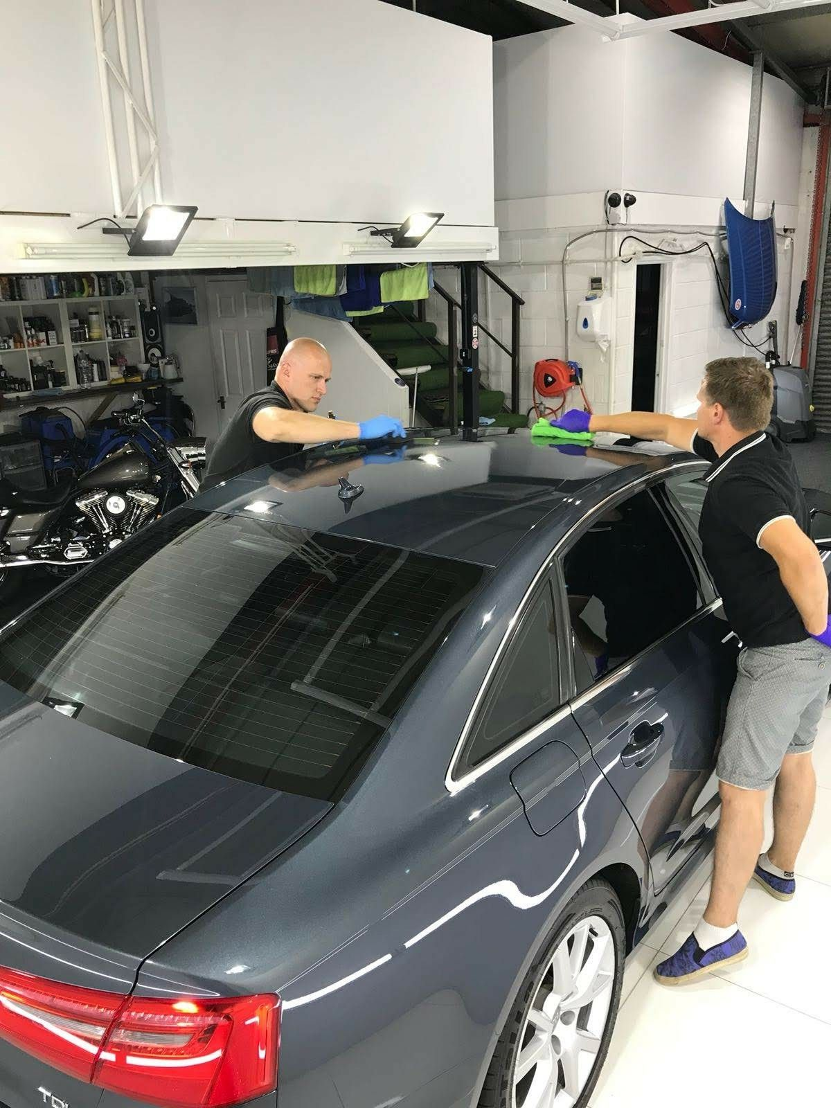Audi...polishing after ceramic coating by SCL Car