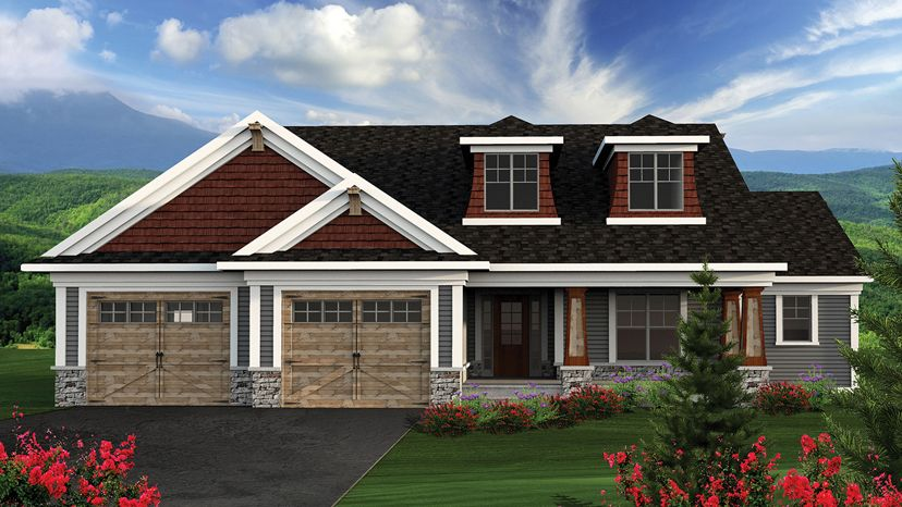 Two Bedroom House Design Pictures Mesmerizing 2 Bedroom Home Plans  Two Bedroom Home Designs From Homeplans Design Ideas