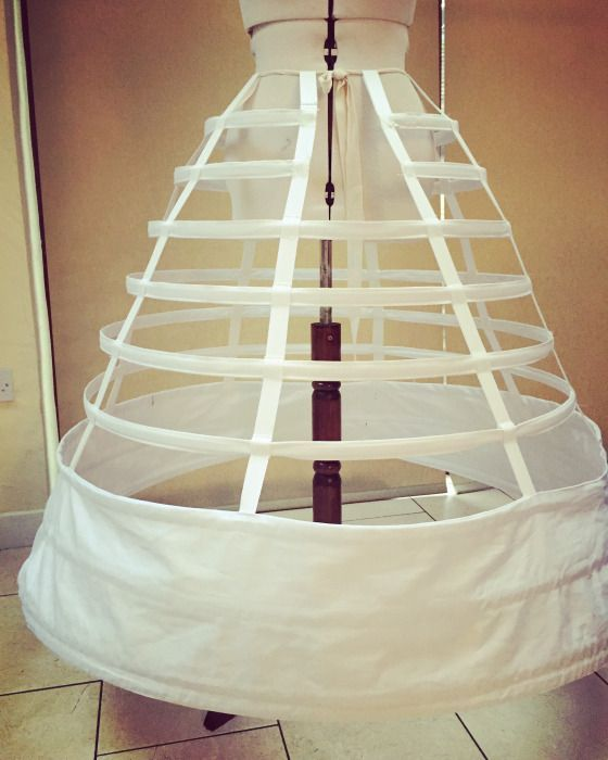 Making a round Crinoline Cage | Costuming | Pinterest | Sewing ...
