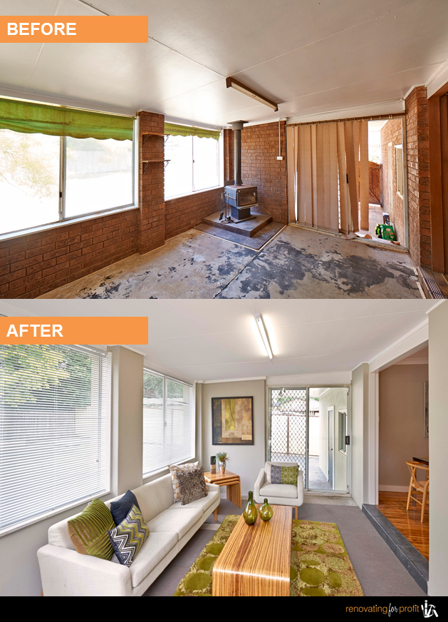 Sunroom Renovation See More Exciting Projects At Www Renovatingforprofit Com Au Interior Renovation Sunroom Remodel Home