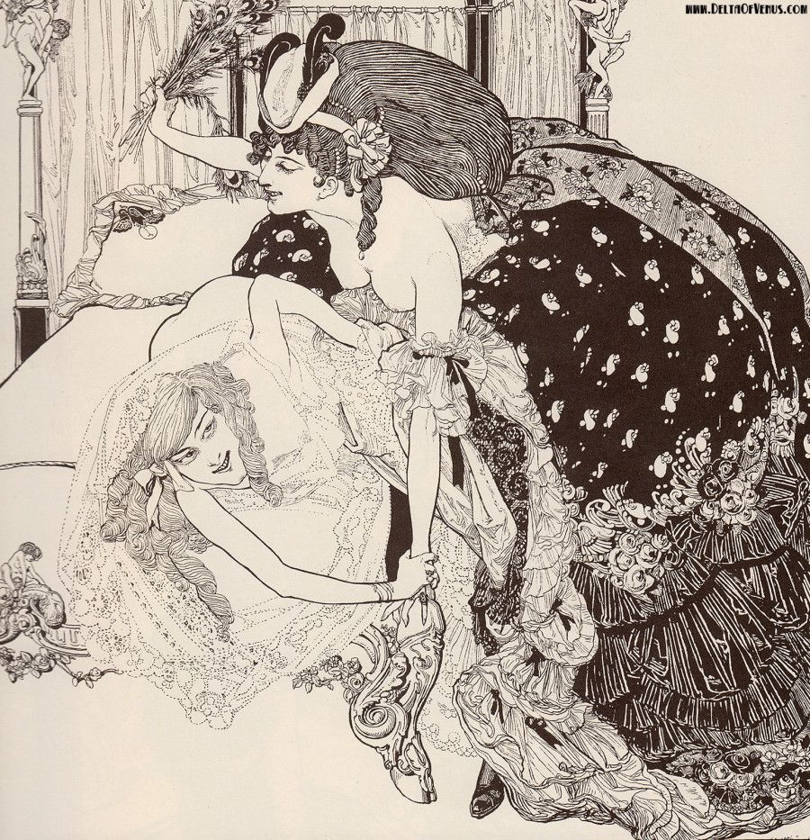 century erotic drawing