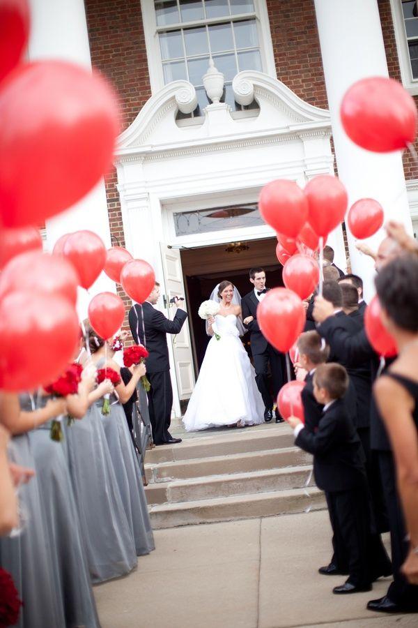Balloon Send Off Blink Of An Eye Photography Wedding