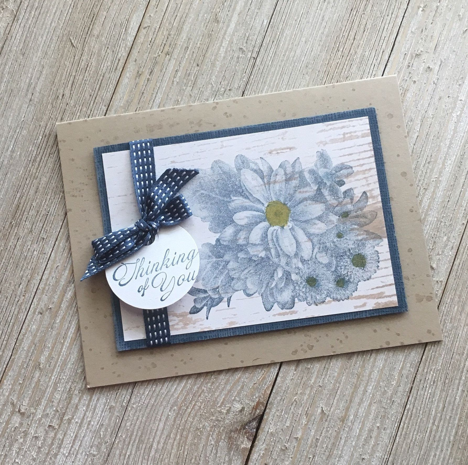 Thinking of you cards friendship cards floral cards handmade