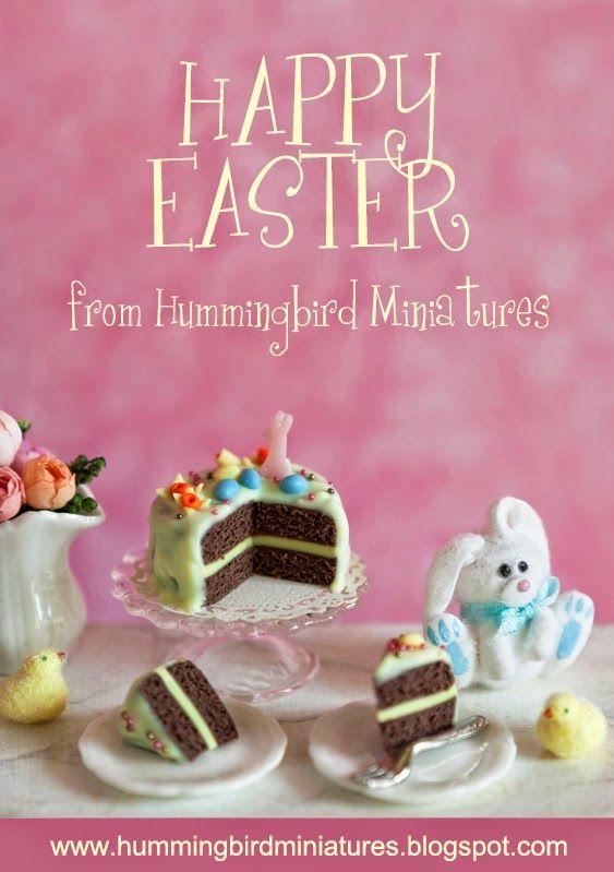 Hummingbird Miniatures: Happy Easter 2014!