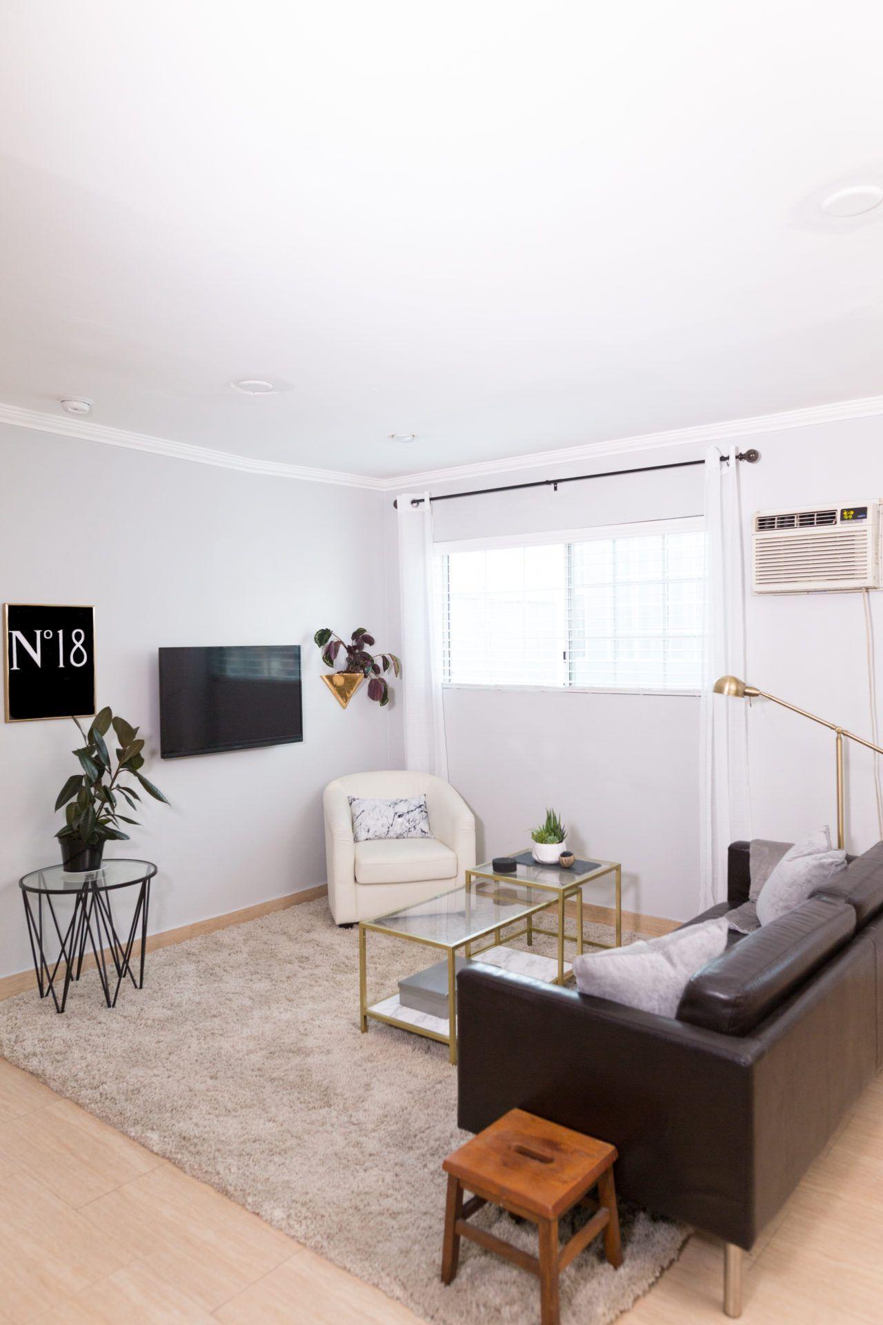 Mr. Kate - Tumblr Minimalist Living Room on a Budget!   minimalist ...