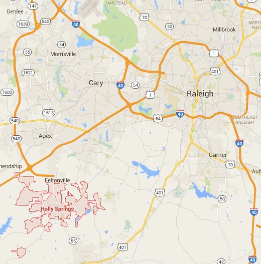 Holly Springs Nc Map A town of Holly Springs, NC MAP! | Holly springs, Map, Interactive map