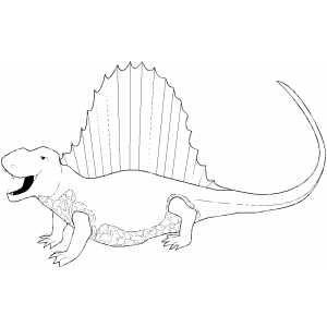 Yelling Spinosaurus Coloring Pages Spinosaurus Free Printable