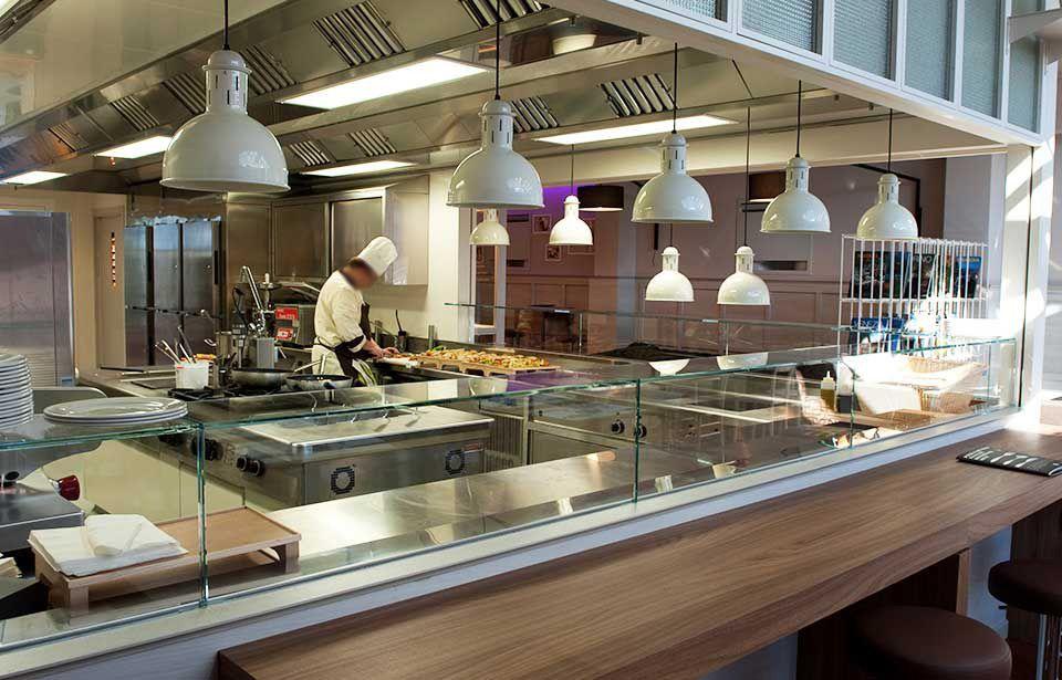 Awesome cucina a vista photos home ideas - Cucine professionali per ristoranti ...