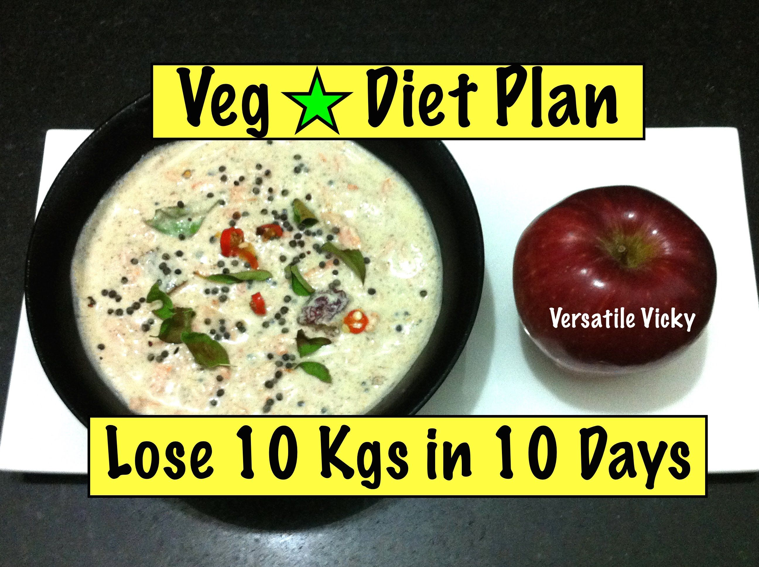 How to Lose Weight Fast 10kg in 10 days. 1000 Calorie ...