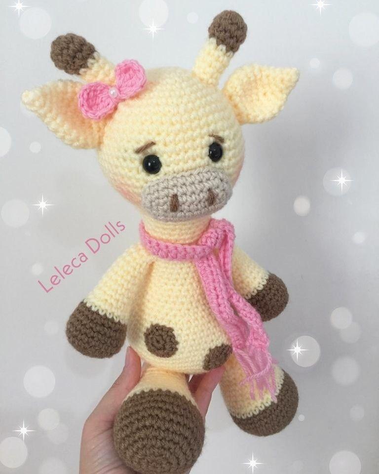 Hearty Giraffe amigurumi pattern | Fazer croche, Brinquedos de ... | 960x768