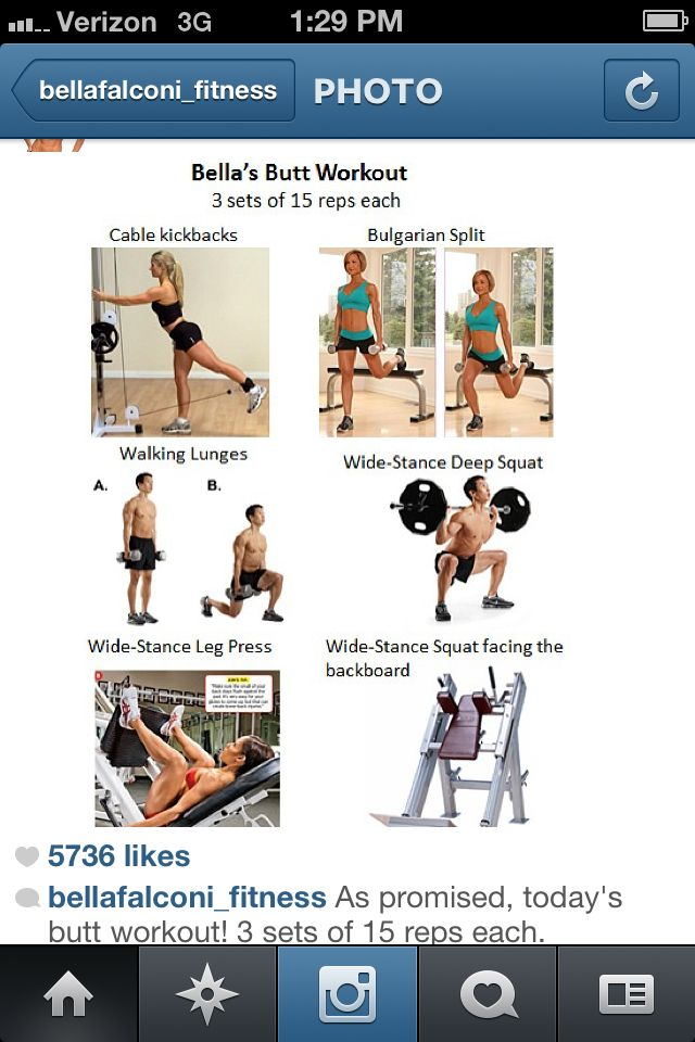 Butt workouts to do at the gym