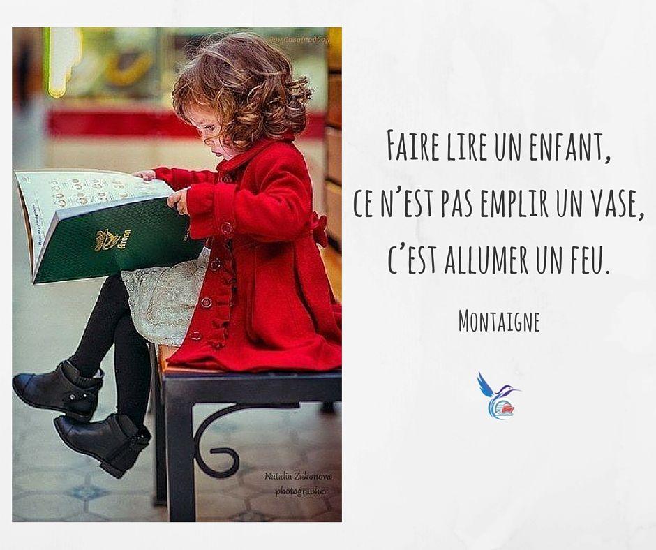 Pensée Citation Amour Livres Lecture Lire Enfance