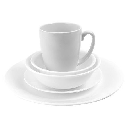 Corelle Winter Frost White 20-pc. Dinnerware Set  Target | Home Ideas | Pinterest | Dinnerware White dinnerware and Flats  sc 1 st  Pinterest & Corelle Winter Frost White 20-pc. Dinnerware Set : Target | Home ...