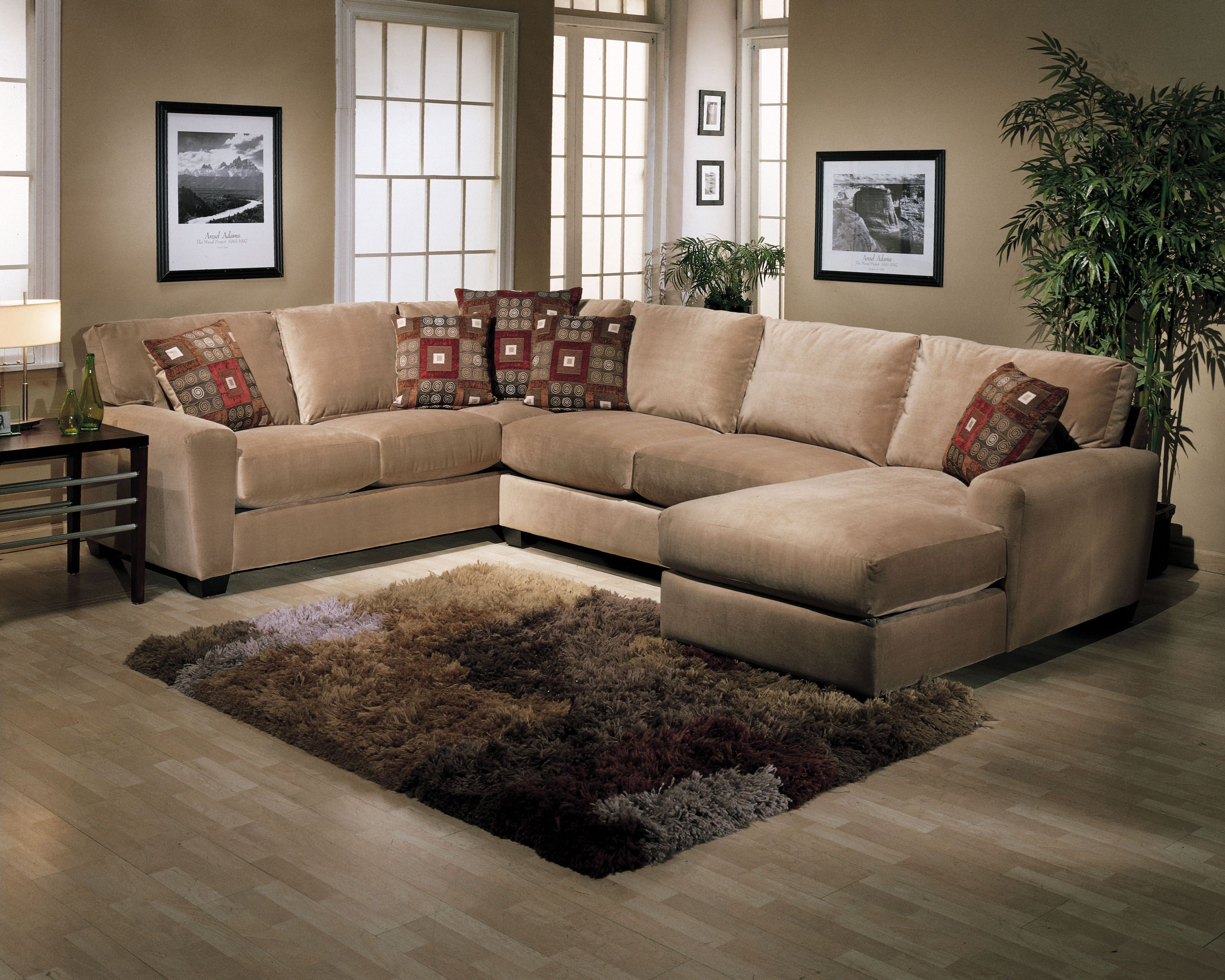 Benson Sectional In Multiple Configurations Sofa Loveseat