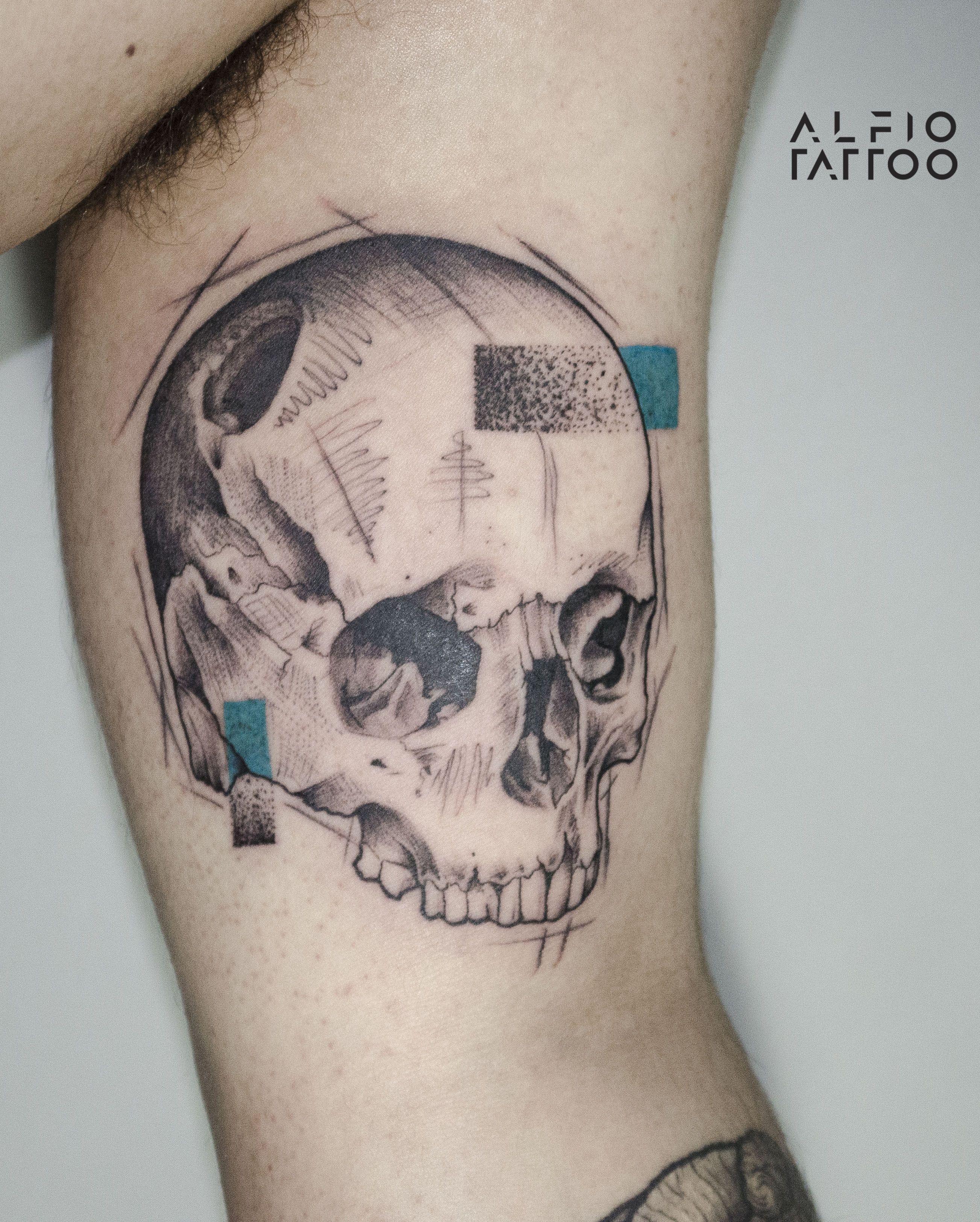 Buenos aires argentina skull design designtattoo