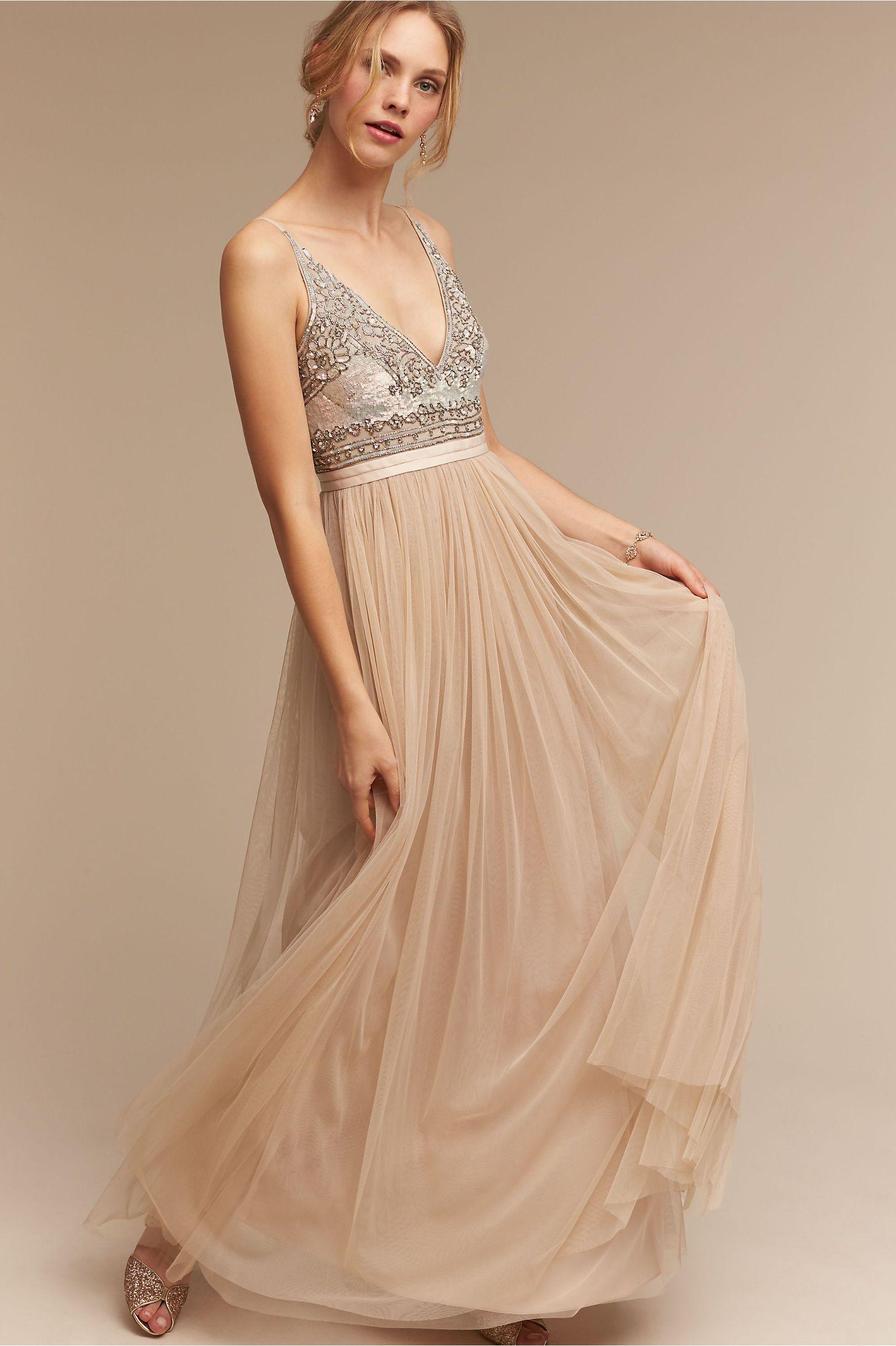 BHLDN Brisa Dress in Bride Bridal Style Bohemian at BHLDN   vestidos ...