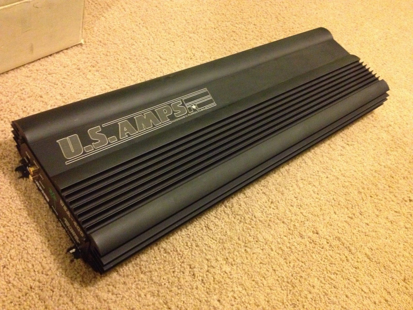 Us Amps Usa 400 2 Channel Amplifier Handmade In Florida Usa Car Audio Subwoofers Car Audio Amplifier Car Audio