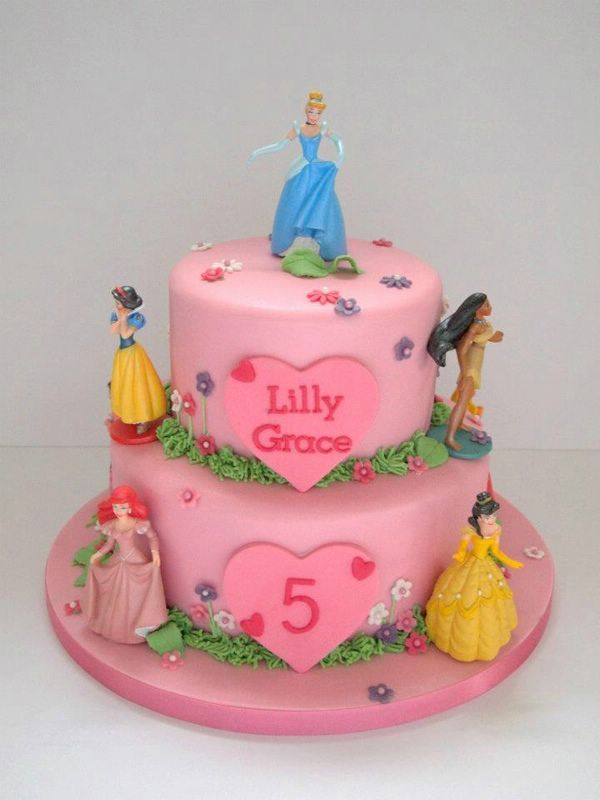 Disney Princess Birthday Cakes Ideas With Images Princess