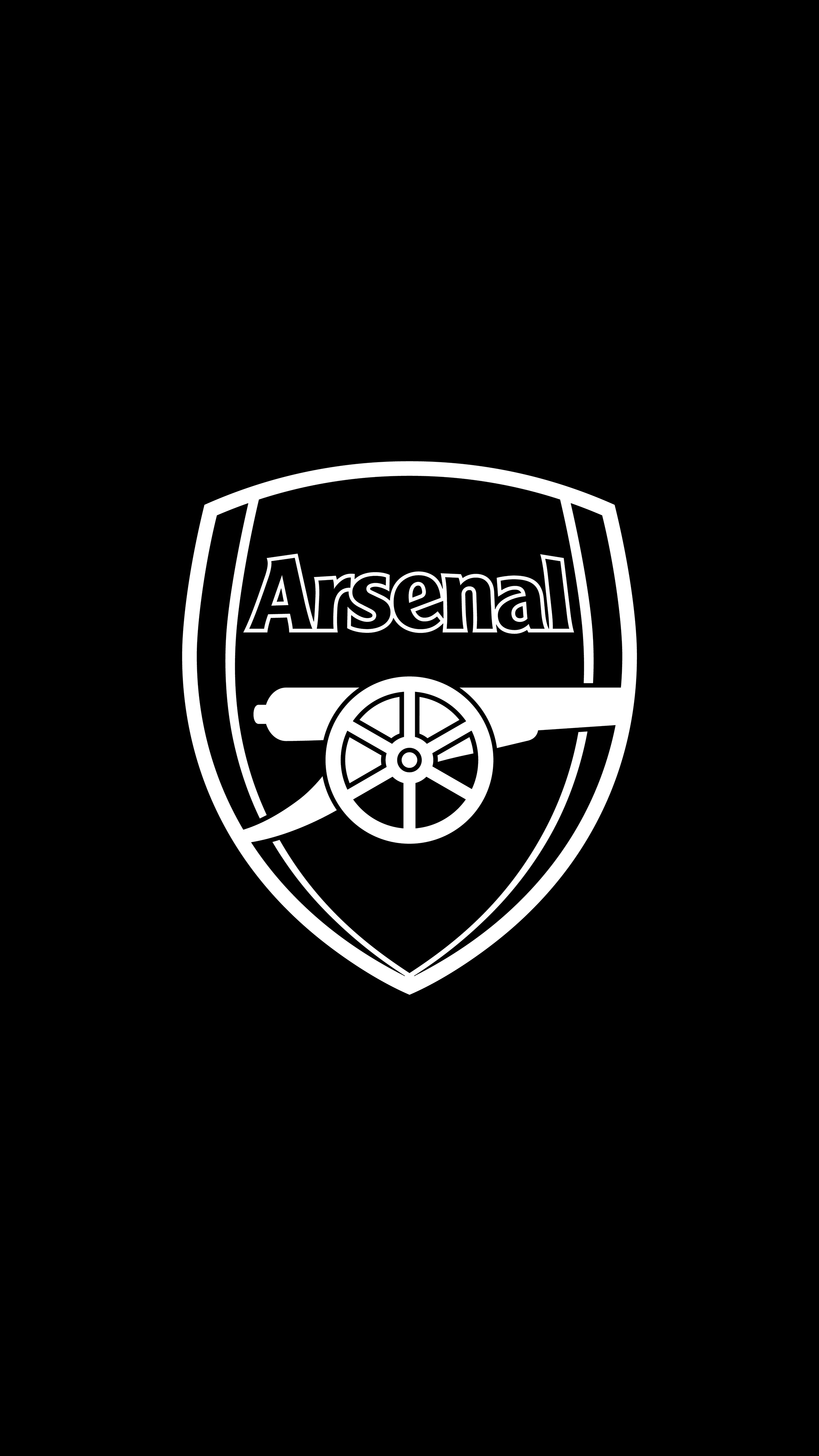 arsenal b w 4k wallpaper sepak bola