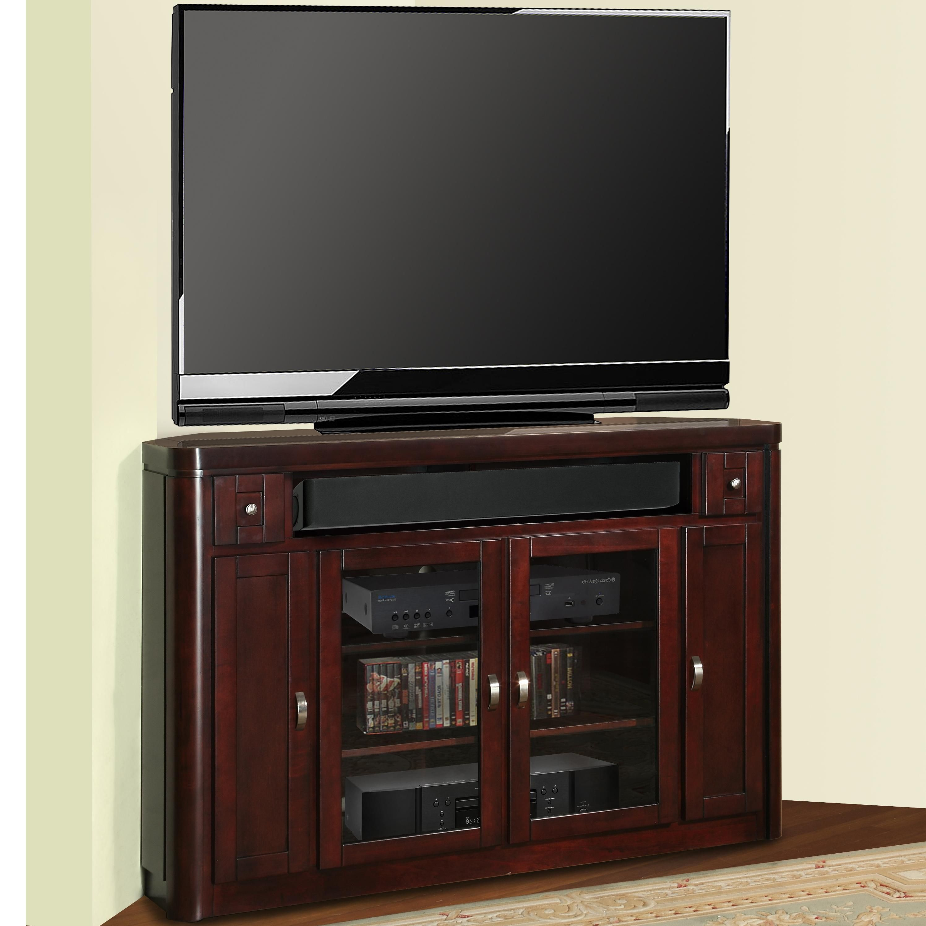 Parker House Toronto 62 Corner Tv Console With Storage Johnny
