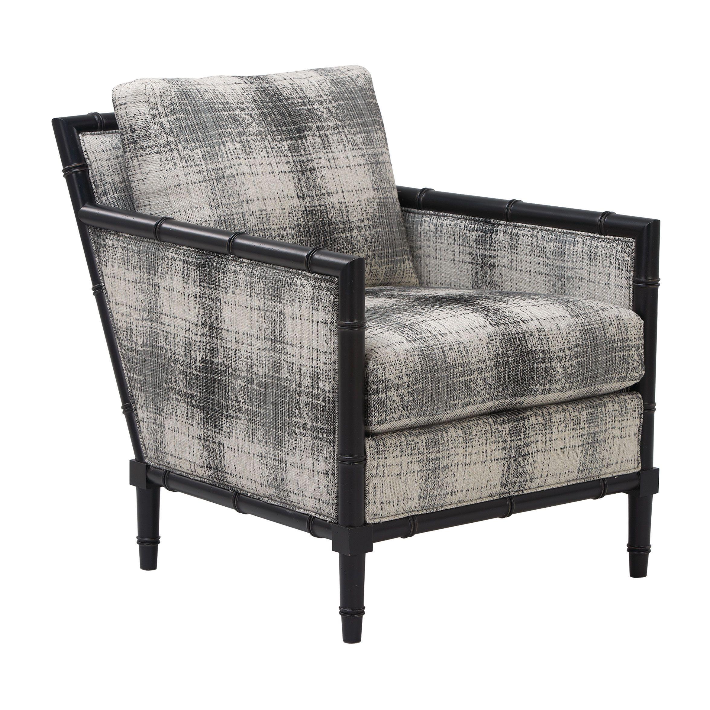 Black and white furniture Pierce Chair Ethan Allen US