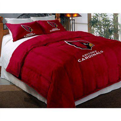 Arizona Cardinals Comforter Set, Arizona Cardinals Queen Size Bedding