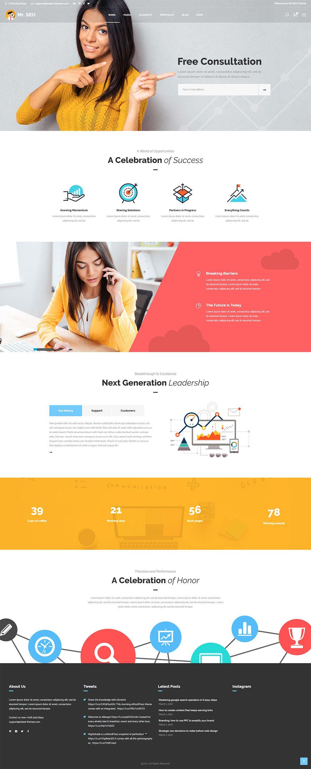 Consultant Home Agency Website Design Seo Website Design Marketing Agency