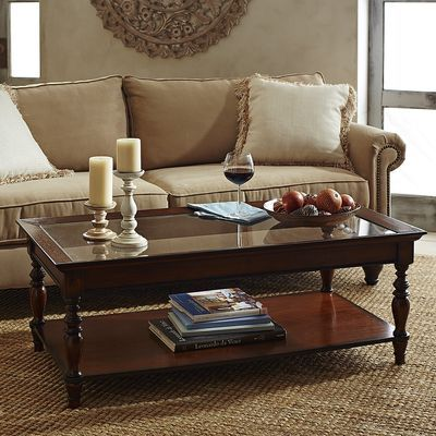 Calmont Coffee Table Tobacco Brown With Images Coffee Table Brown Coffee Table Round Glass Coffee Table