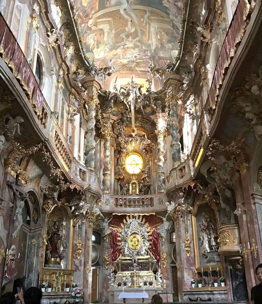 a quick trip through salzburg and munich church interior travel rh pinterest com