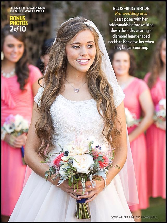 Jessa Seewald Jessa Duggar Wedding Jessa Duggar Wedding Dress Duggar Wedding
