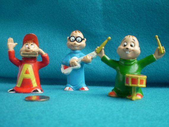 Alvin and the Chipmunks Set by MarysVintageAttic on Etsy