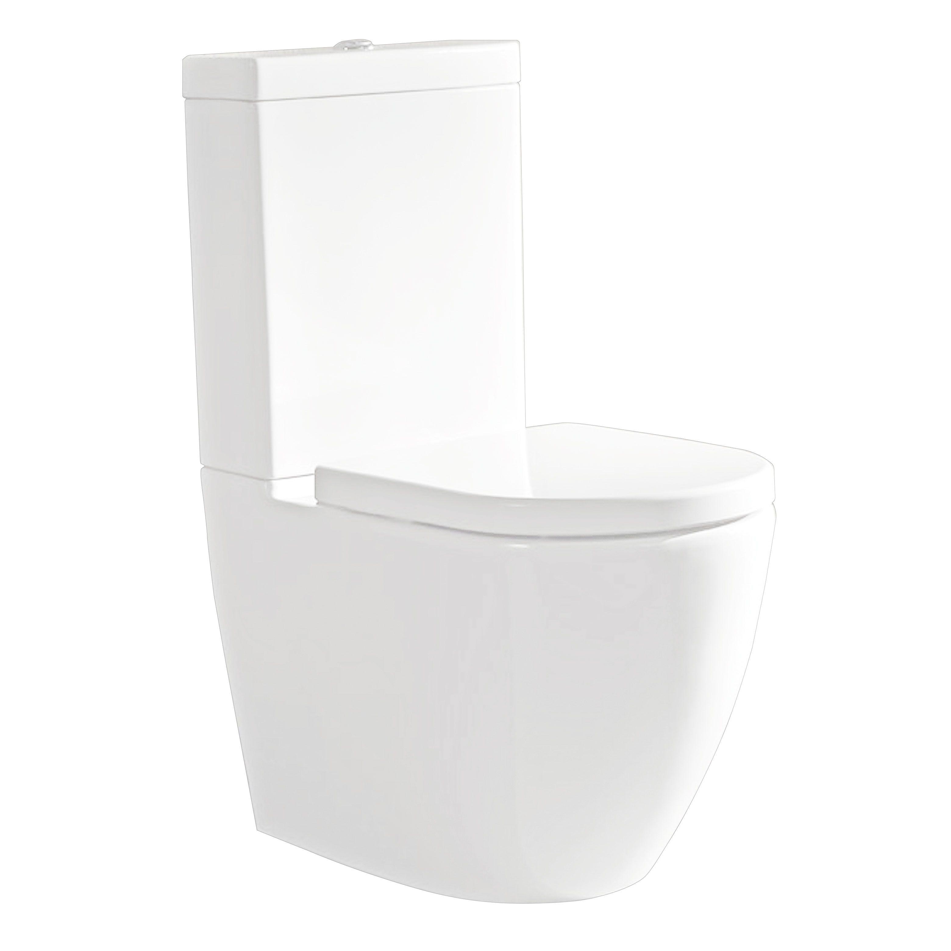 Surprising Parisi Ellisse Back To Wall Toilet Suite Domayne Online Creativecarmelina Interior Chair Design Creativecarmelinacom