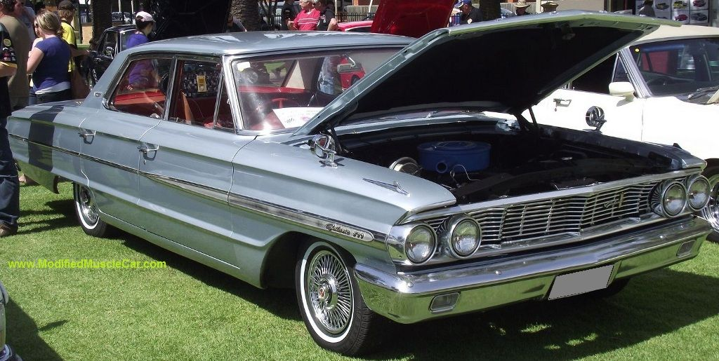 Ford Galaxie 1964 500 4 Door Sedan 2nd Generation Ford Galaxie