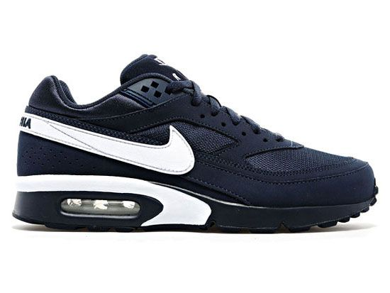 nike air max classic bw navy