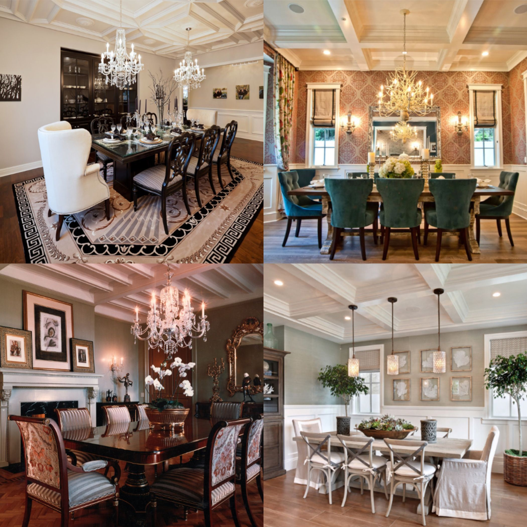 Modern Victorian Dining Rooms