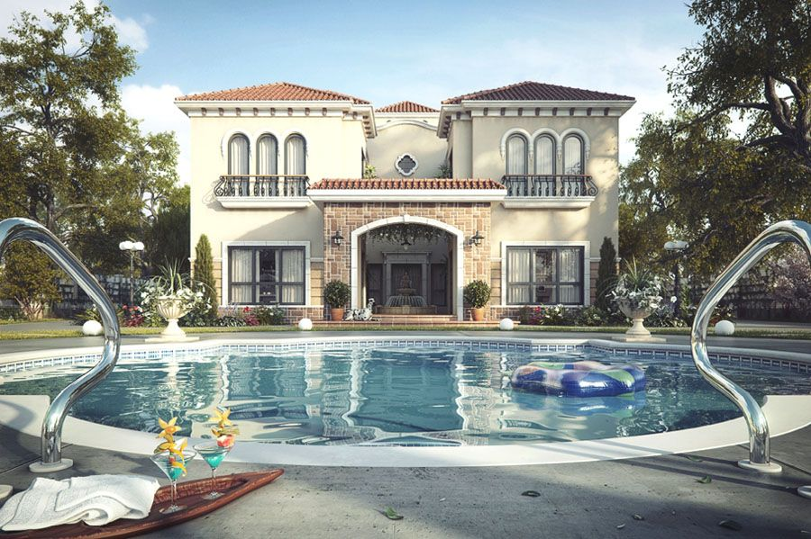 tuscan architecture |  tuscan inspired architectural style. the