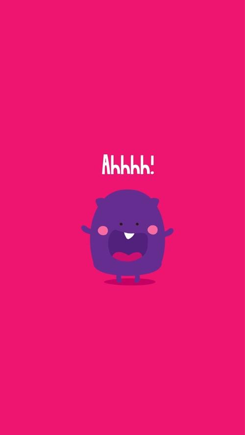 Cute Monster Wallpaper Quotes Iphone Wallpaper Wallpaper
