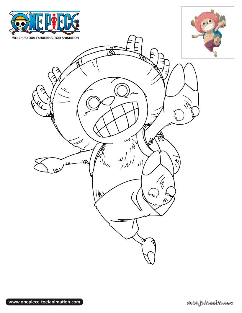 Coloriage chopper digistamp coloriage coloriage manga - Coloriage one peace ...