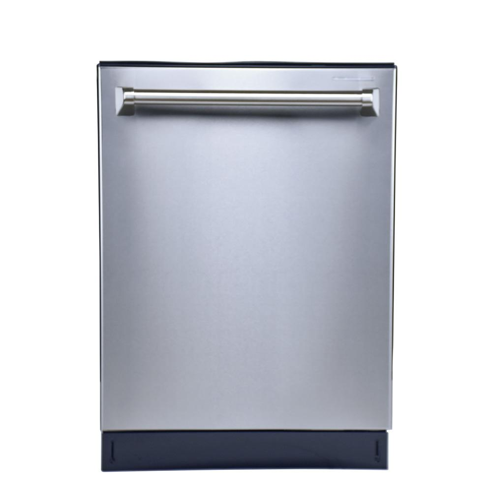 Hallman Top Control Tall Tub Dishwasher in Stainless Steel (Silver ...
