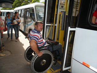 Consegui pegar o ônibus mais tive que enfrentar obstáculos. ~ Portal PcD On-Line