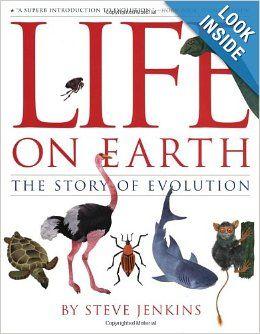 Life on Earth: The Story of Evolution: Steve Jenkins: 9780618164769: Amazon.com: Books